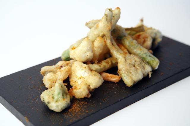 tempura de verdura. Daily gastrobar
