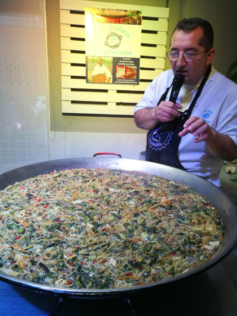 II Gala gastronomica de Fundación Novaterra Paellas Galbis