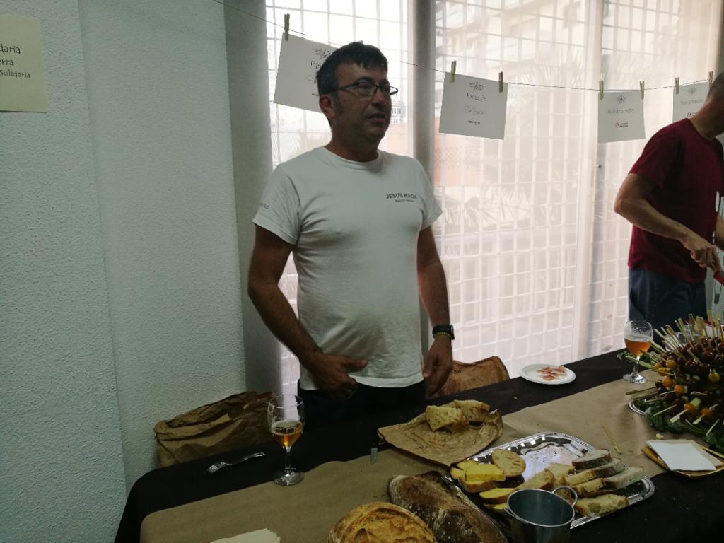II Gala gastronomica de Fundación Novaterra panadero Jesus Machi
